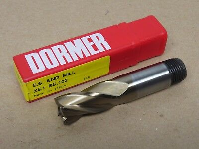 Dormer 6mm HSCO-XP Slot Drill 2 Flute Ball Nose C500 6.00mm Made In Italy A10