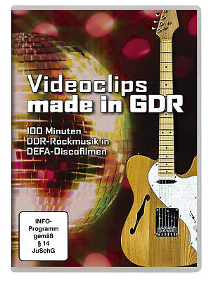 Video Clips Made in GDR Puhdys Silly Carat City Electra DVD Videos DDR New
