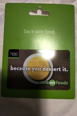 $100 Savo-On Foods Gift Card