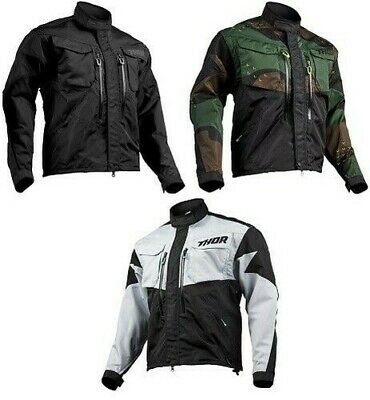 Thor Men's Terrain Motorcycle MX Offroad Jacket All Colors & Sizes