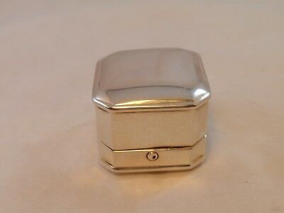 Vintage Birks Sterling .925 Silver Single Slot Ring Box*no Monogram**no Reserve*