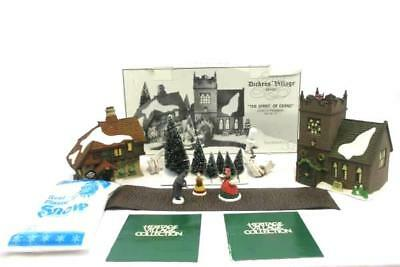 """DEPT 56 Dickens Village Set of 13 """"THE SPIRIT OF GIVING"""" Start A Tradition 58322"""
