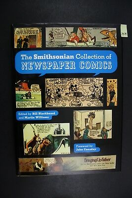 1988 Abrams The Smithsonian Collection of Newspaper Comics Hardcover Book PS759