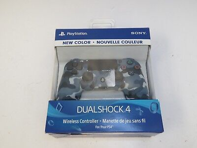 Sony PS4 PlayStation 4 DualShock 4 Wireless Controller - Blue Camo