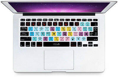 HRH Hot Key Function Shortcut Spanish Silicone Keyboard Cover Skin for Mac Air