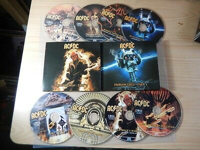 AC/DC - Problem Child The Best of The Bon Scott Years (2018 Coda) 8 x CD Box Set