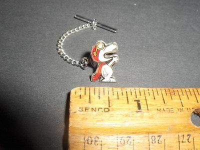 Vintage Rare NASA Grumman Snoopy Employee Given Lapel Pin or Tie Tack or Hat Pin