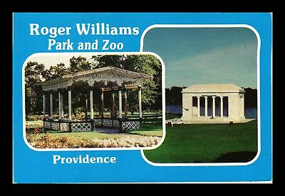 Dr Jim Stamps Us Roger Williams Park Zoo Providence Rhode Island Postcard