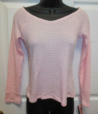 NWT Body Wrappers Dance V neck Long sleeve Ballet Sweater Black or Pink GIRLS