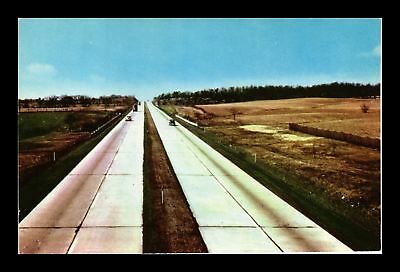 Dr Jim Stamps Us Franklin County Pennsylvania Turnpike Chrome View Postcard