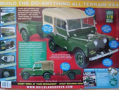 Build The Legendary Series 1 Land Rover Replica Build Kit No I Issue 79 Cm Size