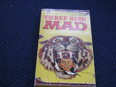 Three Ring Mad Magazine Paperback Book-Alfred E. Newman-Copyright 1964