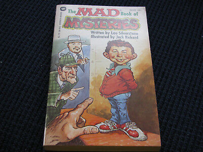 The Mad Book of  Mysteries Paperback-Alfred E. Newman-Copyright 1980
