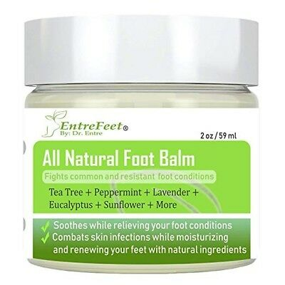 Dr. Entre's Foot Balm: Organic Hydrating Antifungal Relief for Fungal Infections