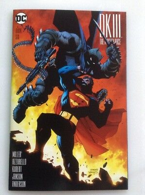 Dark Knight Iii The Master Race Book Six (6) Variant By Jim Lee