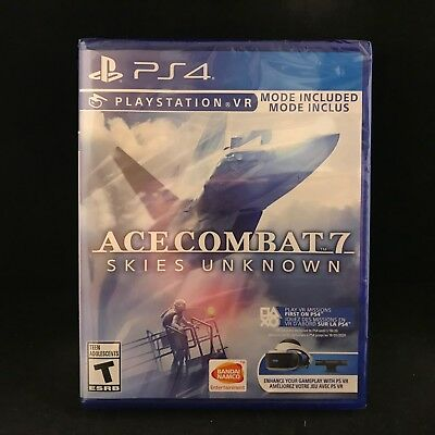 Ace Combat 7: Skies Unknown (Playstation 4)  BRAND NEW / Region Free