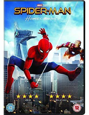 New and Sealed Marvel Spider-man Homecoming DVD