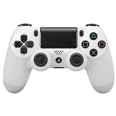 Sony PS4 PlayStation 4 DualShock 4 Wireless Controller - Glacier White (NB)