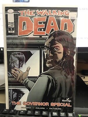 The Walking Dead #1 Governor Special Hastings Variant Image Comics Kirkman