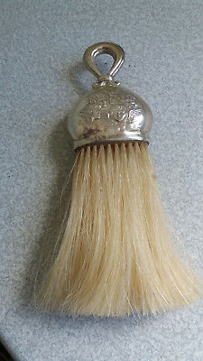 Antique Sterling Silver  Clothes Brush - Reynolds Angels -  W Mathews -1901