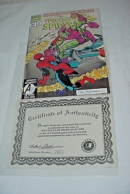 The Spectacular Spider-Man # 200 1993 (Signed By Sal Buscema) With Coa