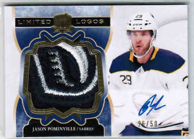 2017-18 Ultimate Collection #8 Jason Pominville Buffalo Sabres Hockey Card Verzamelkaarten: sport