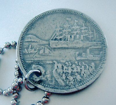 Antique GREAT EASTERN Steamship Token 1860; Purchased On Board The Ship