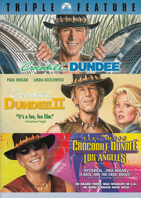 Crocodile Dundee / Crocodile Dundee Ii / Crocodile Dundee In Los Angeles ( (Dvd)