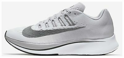 ae1c83b2cf5a4 Women s Nike Zoom Fly Shoes -Vast Grey Anthracite -Size 9.5 -897821 ...
