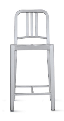 Authentic Emeco for the U.S. Navy, 1006 Navy® Counter Stool | DWR