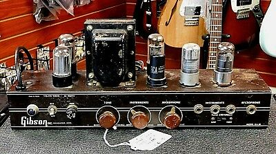Vintage 1950's Gibson GA-30 Amp Chassis Fully Serviced! AWESOME TONE! NO RESERVE