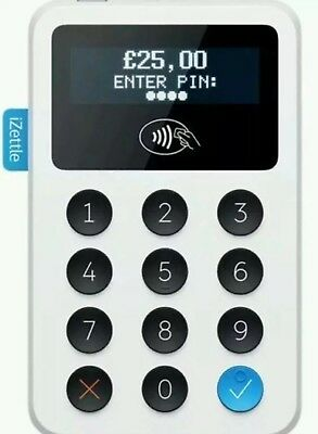 iZettle Chip and PIN Card Reader with Contactless Payment - UK PARTNER