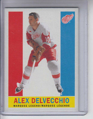 12/13 OPC Detroit Red Wings Alex Delvecchio Retro Legend card #511