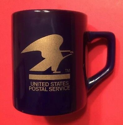 West Milwaukee Wisconsin United States Postal Service Coffee Cup Mug Vtg USPS