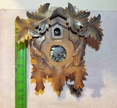Germany Cuckoo Clock For  Parts No Reserve