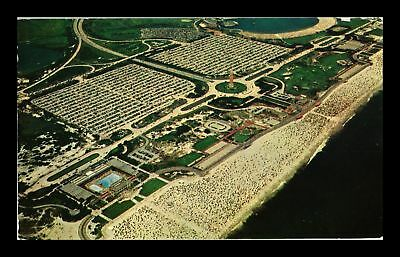 Dr Jim Stamps Us Aerial View Jones Beach Long Island New York View Postcard