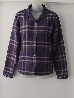 Ladies 'kathmandu' Reversible Jacket Coat Sz 8 - As New