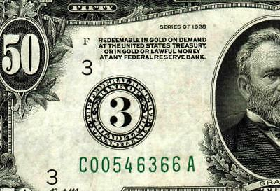 $50 1928 :::: Philadelphia ::::  Federal Reserve Note ** MORE CURRENCY FOR SALE