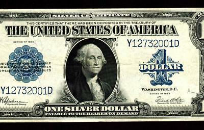 $1 1923   Silver Certificate **  MORE CURRENCY FOR SALE THIS WEEK **