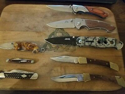 TSA Confiscated Knives 1021