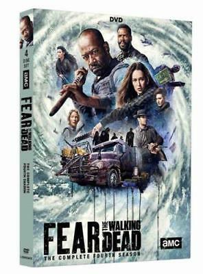 Brand New Sealed Fear the Walking Dead Season 4 DVD Box Set Free Post