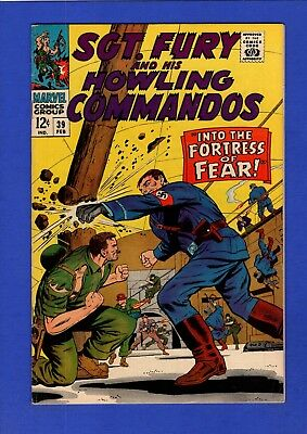 Sgt. Fury And His Howling Commandos #39 Vf+ High Grade Silver Age Marvel