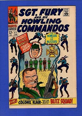Sgt. Fury And His Howling Commandos #41 Vf+ (Qualified) Higher Grade Silver Age