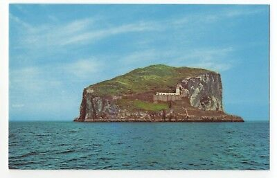 The Bass Rock North Berwick East Lothian 1960s Postcard 920b