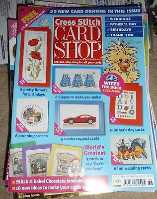 Cross Stitch Card Shop - Cross Stitch Magazine Issue 36