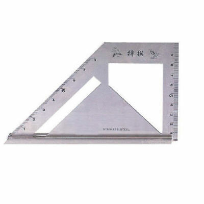 SB Corp MT-4590 Square Meter Angle Protractor Carpenter Tool Stainless_EA