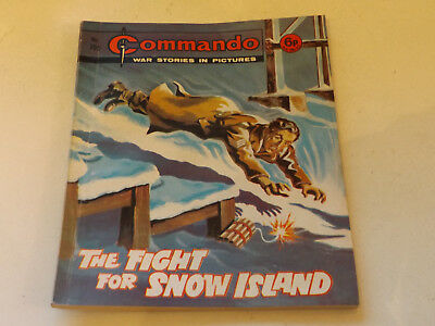 Commando War Comic Number 705 !,1972 Issue,v Good For Age,47 Years Old,very Rare