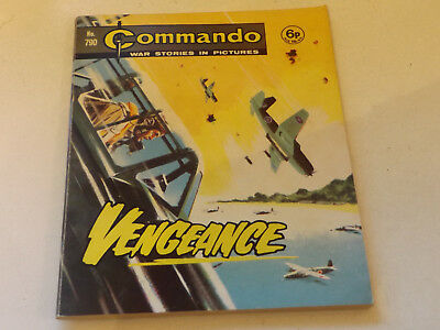 Commando War Comic Number 790 !,1973 Issue,v Good For Age,46 Years Old,very Rare