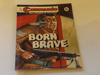 Commando War Comic Number 779 !,1973 Issue,v Good For Age,46 Years Old,very Rare