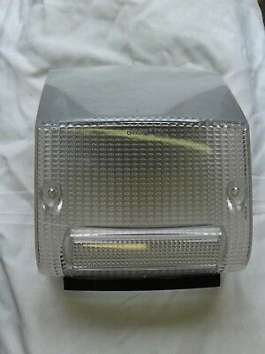Vespa PX T5 Classic and Early PX Disc Model Smoked Rear Lamp Lens